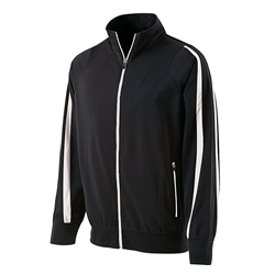 Girls Warm Up Jacket, Black