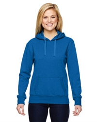 J America Ladies' Glitter French Terry Hood (screenprinted Oley Valley Lynx logo, 2 color, full chest)