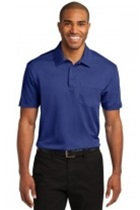 PA Mens Silk Touch Performance Pocket Polo (Embroidery, Left Chest)