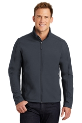 Port Authority Core Soft Shell Jacket, Battleship Grey