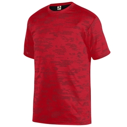 Augusta Youth Sleet Wicking Tee, Red