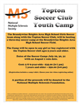 Registration Package #2 -  Ages 7 and Above for Camp, July 29, 30, 31 (6:00-8:00 PM)