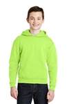 JERZEES® - Youth NuBlend® Pullover Hooded Sweatshirt, Color Choice Available, White Logo